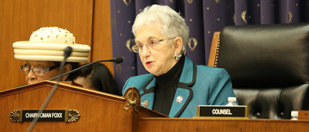 U.S. Congresswoman Virginia Foxx